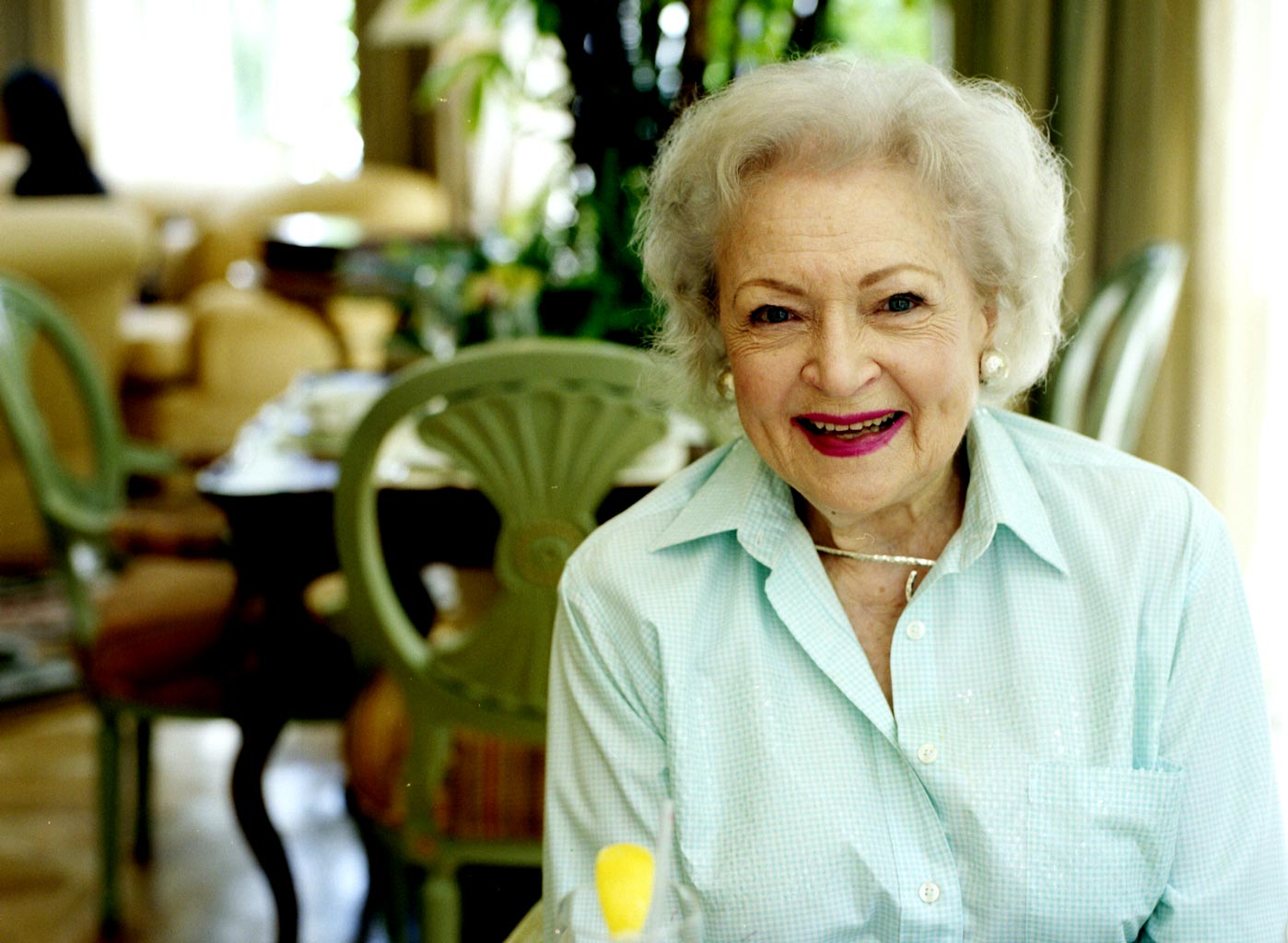 Betty White for The New York Times