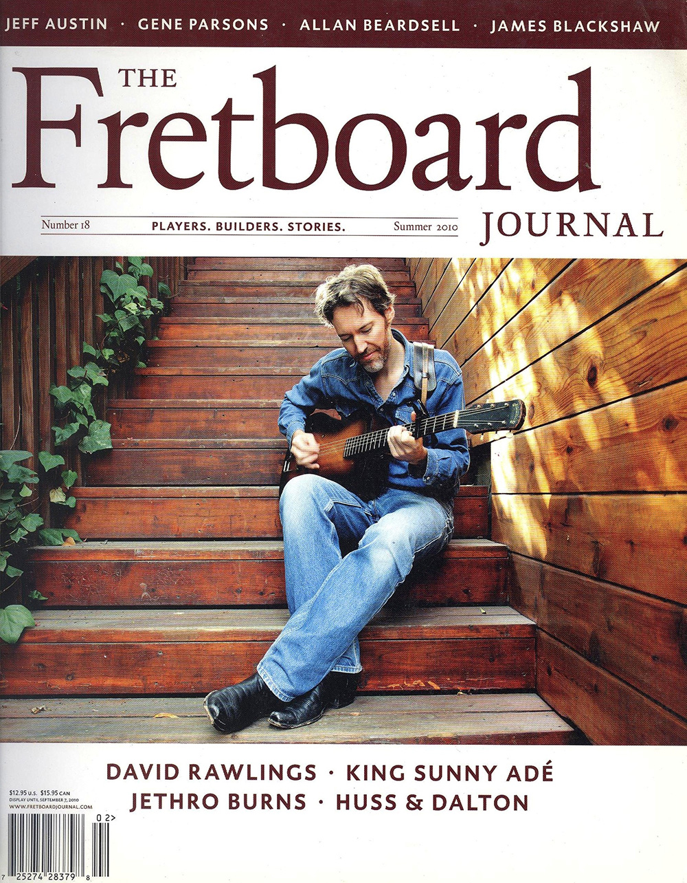 David Rawlings for Fretbaord Journal