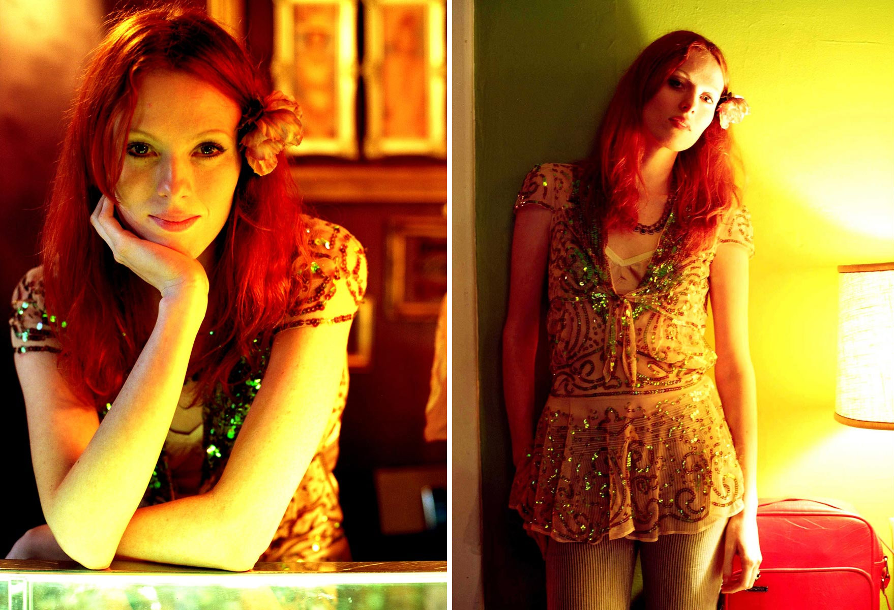 Karen Elson for Blackbook