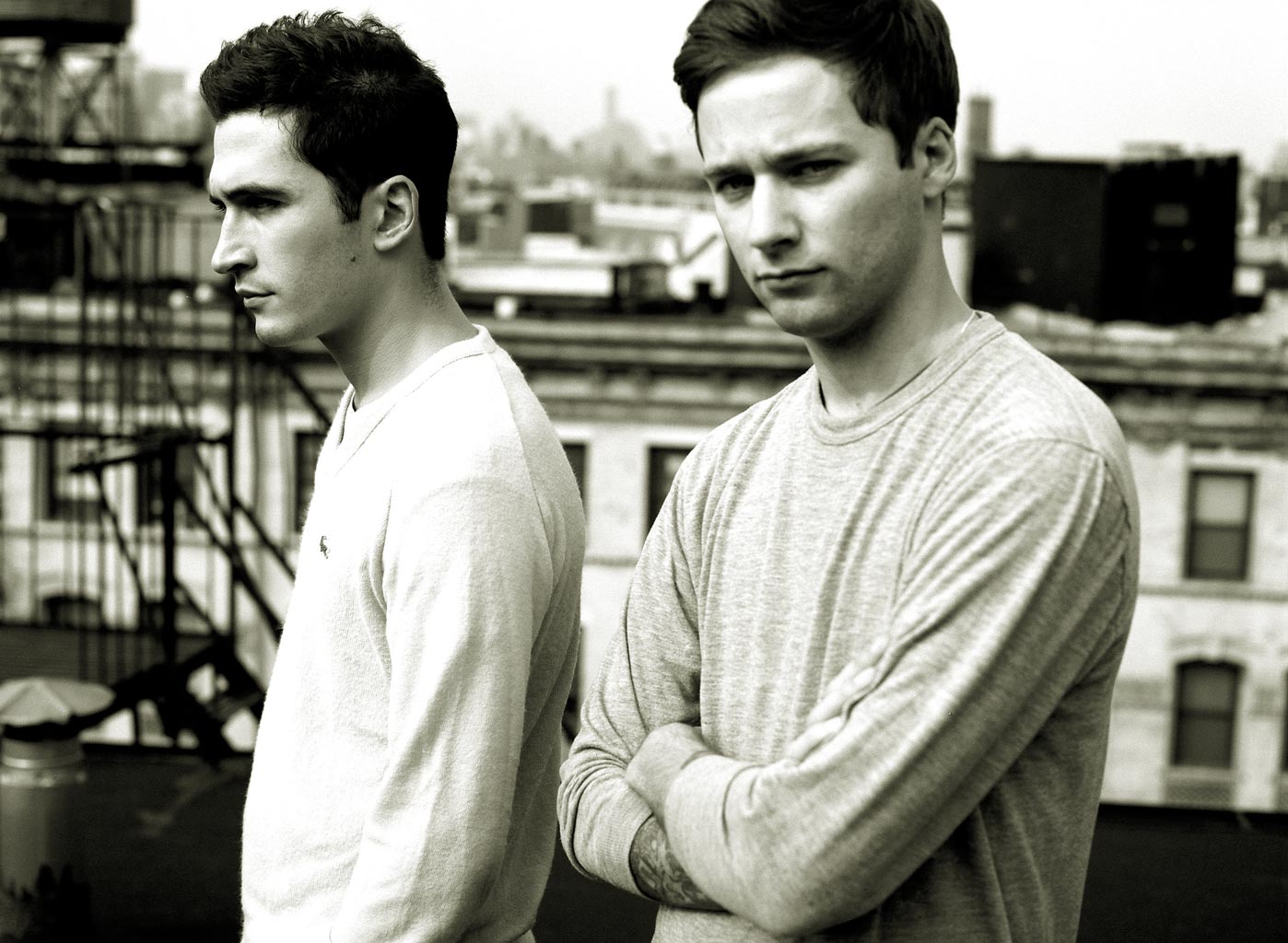Lazaro Hernandez (left) + Jack McCollough: Proenza Schouler for The New York Times