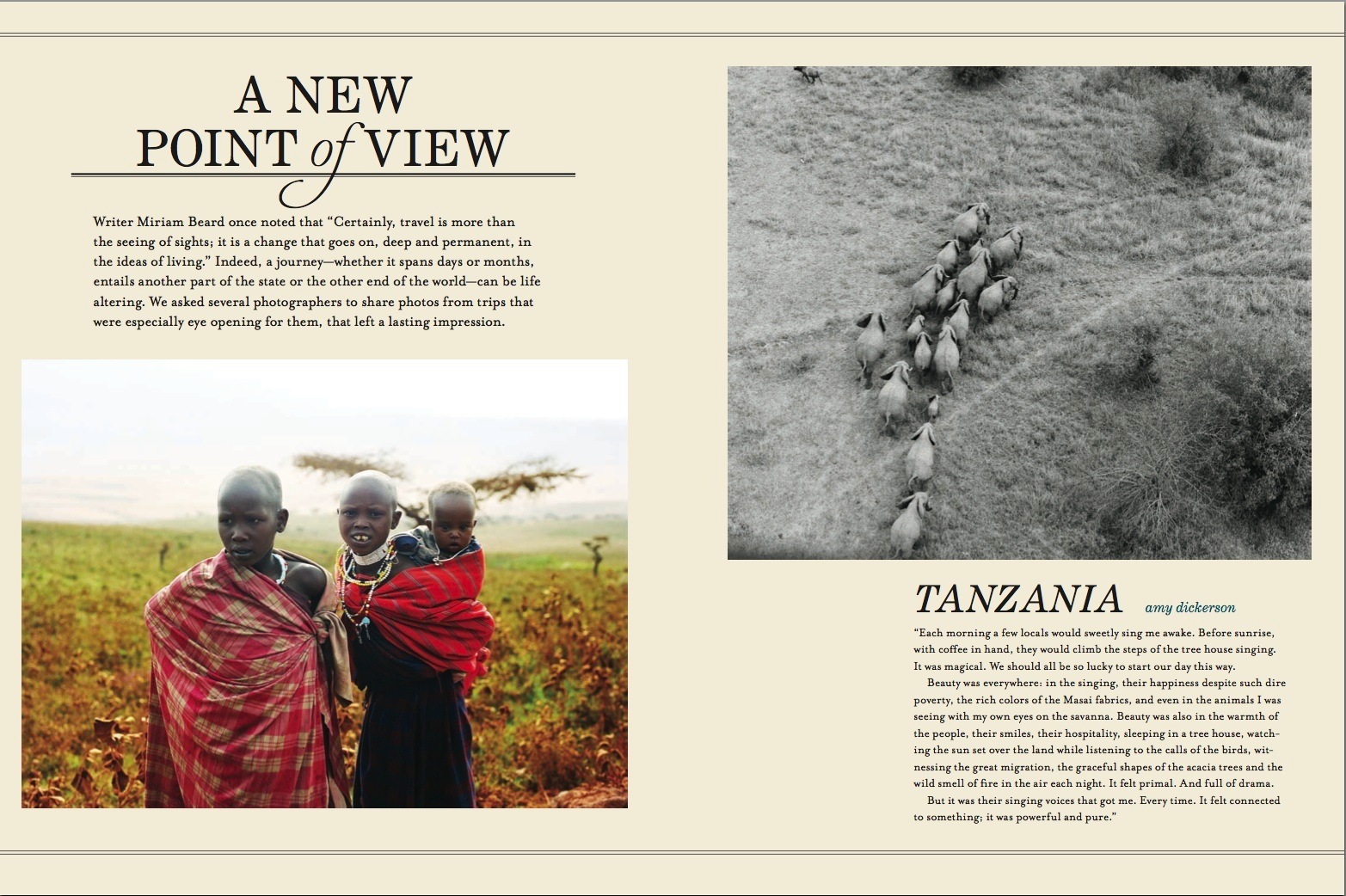 Tanzania Africa for Anthology Magazine